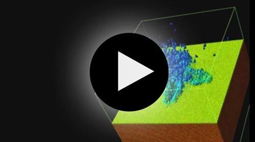 Darstellung von Laserablationen