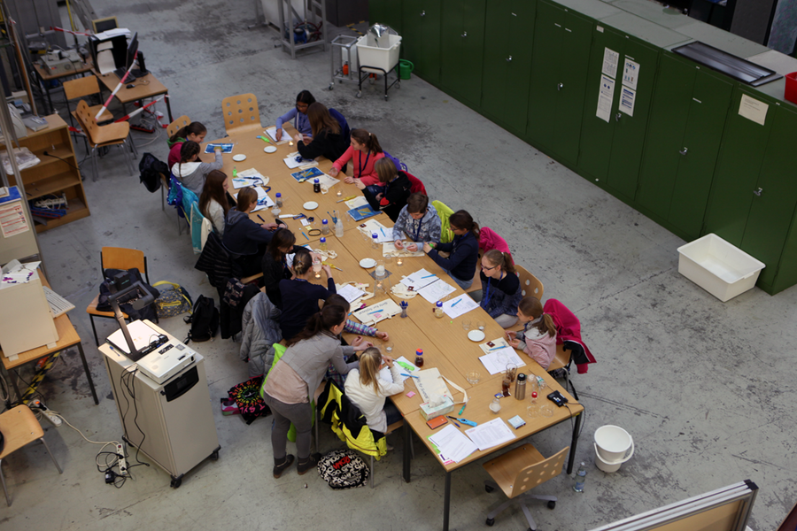 Workshop-Angebote beim Girls' Day