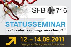SFB 716 Statusseminar 2011