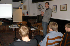 Die Doktoranden des SFB 716 trafen sich erstmals zu einer Winter-School in Österreich.