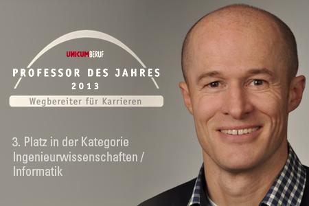 Joachim Groß Professor des Jahres 2013 bei