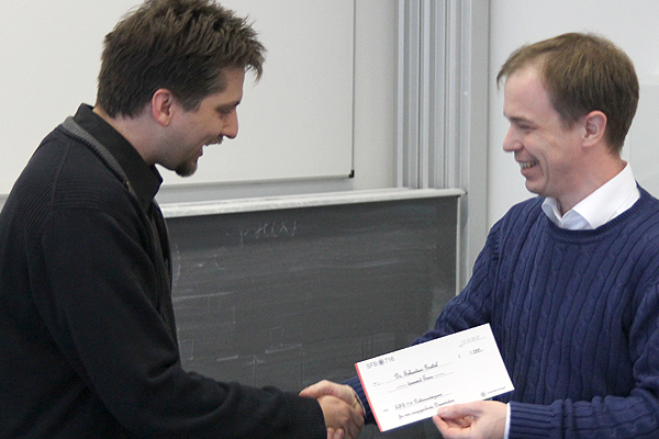 SFB 716 Doktorandenpreis 2014