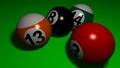 Billiardspiel und Teilchenphysik
