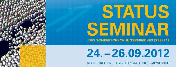 Statusseminar 2012