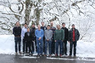 Teilnehmer der SFB 716 Winterschool