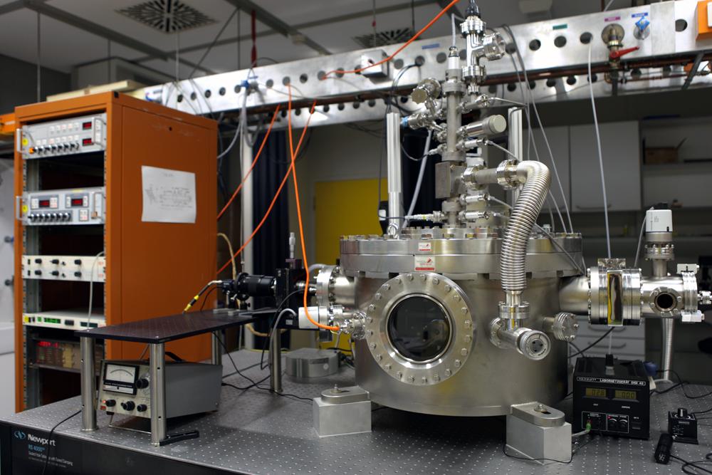 Bild 1: Das Labor, in dem die Defekte erzeugt werden.